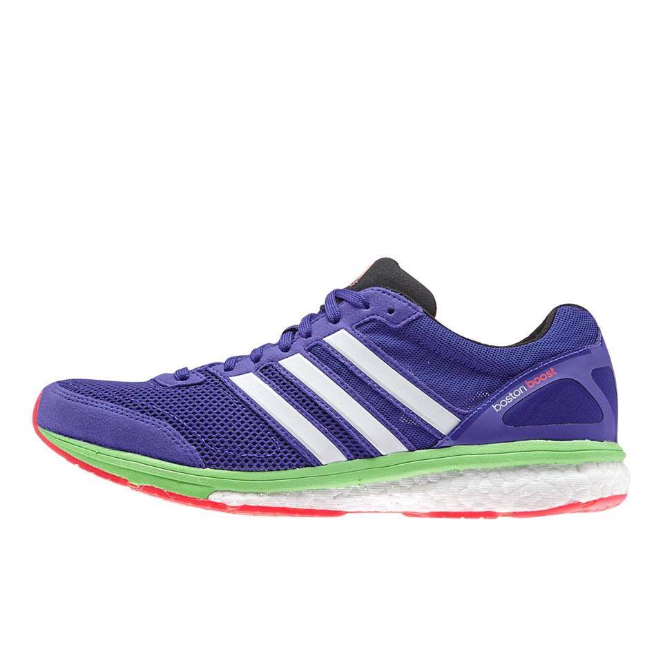 pretty nice 2d373 b6bab adidas Womens Adizero Boston 5 Running Shoes - PurpleZero MetGreen  Sports  Leisure  TheHut.de