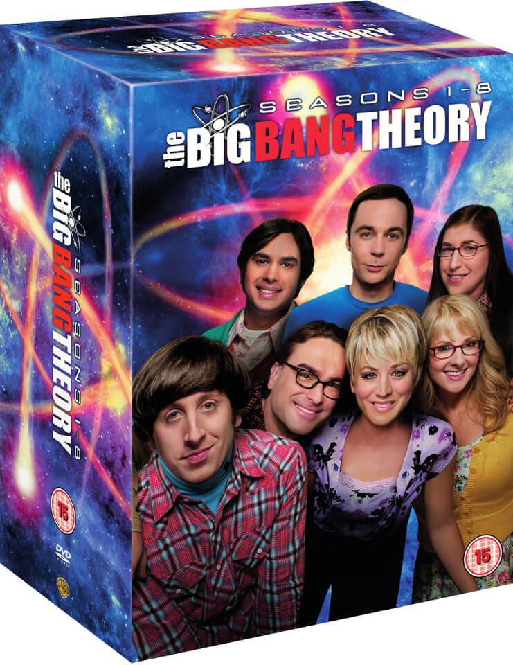 The Big Bang Theory Seasons 1 8 Dvd Zavvi