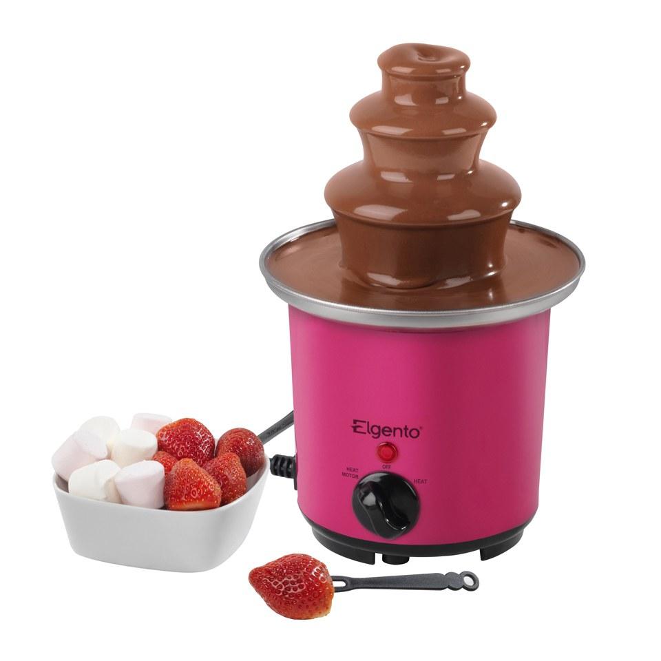 Elgento E26005 Mini Chocolate Fountain Pink IWOOT