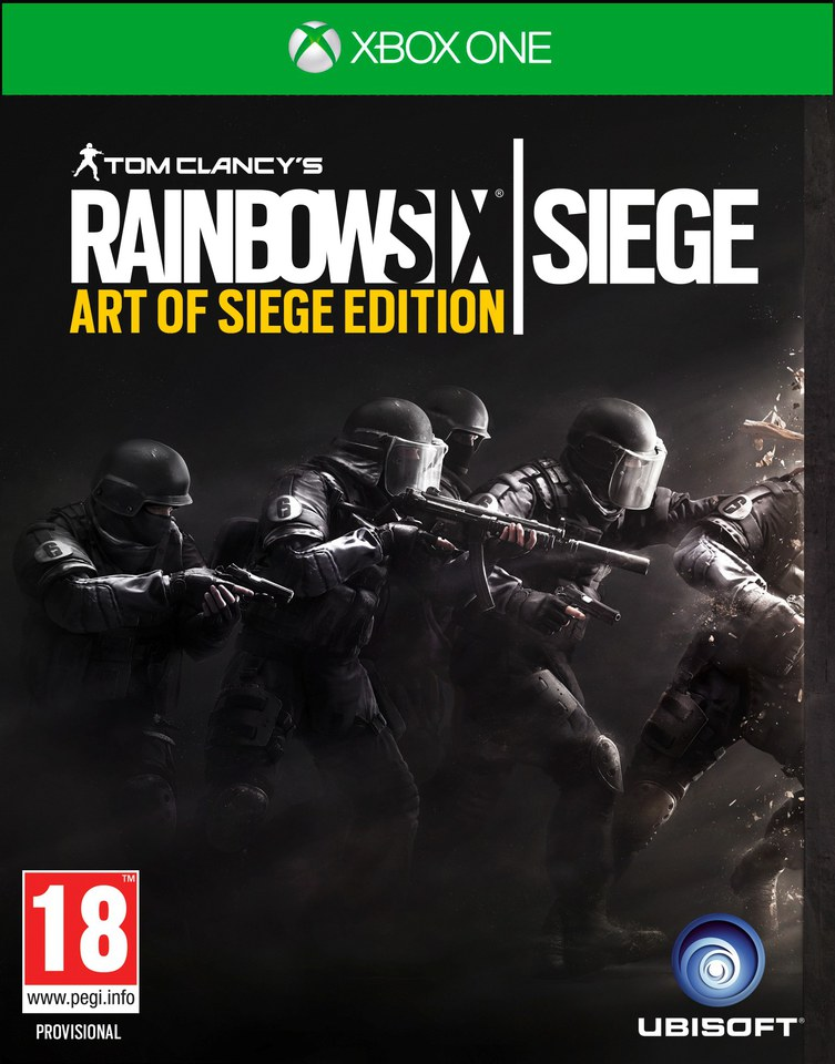 tom clancy 39 s rainbow six siege art of siege edition xbox one. Black Bedroom Furniture Sets. Home Design Ideas