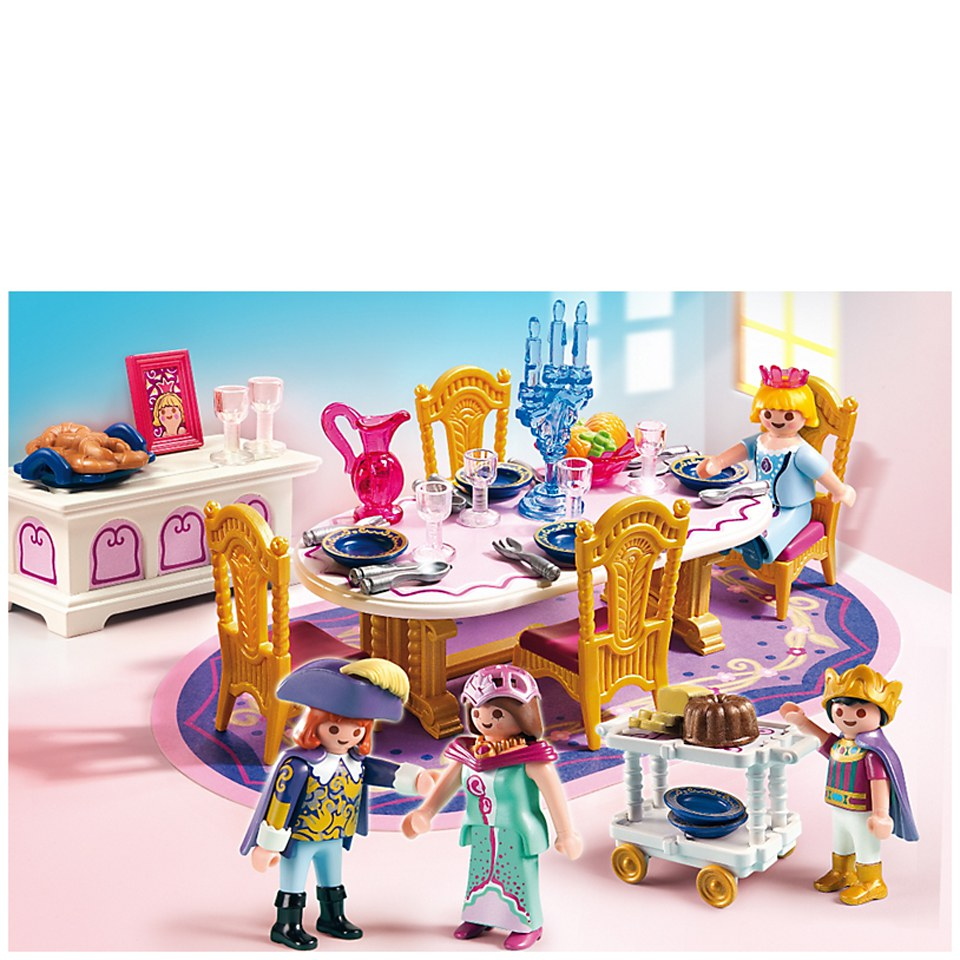 Playmobil princeses royal dining room 5145 toys for Playmobil dining room 5335