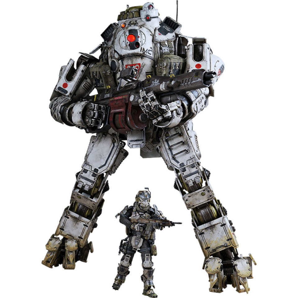 threezero titanfall atlas figure set merchandise zavvi