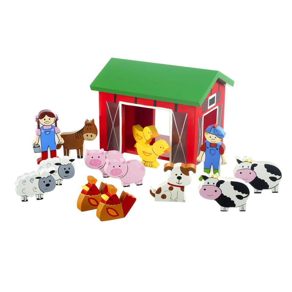Orange Tree Toys Farm Yard Play Set Iwoot