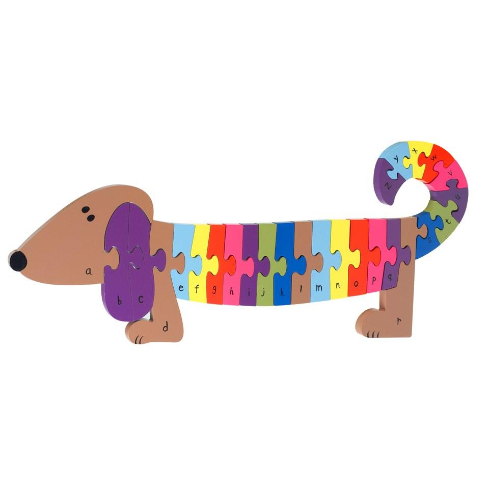 Orange Tree Toys Alphabet Dog Puzzle