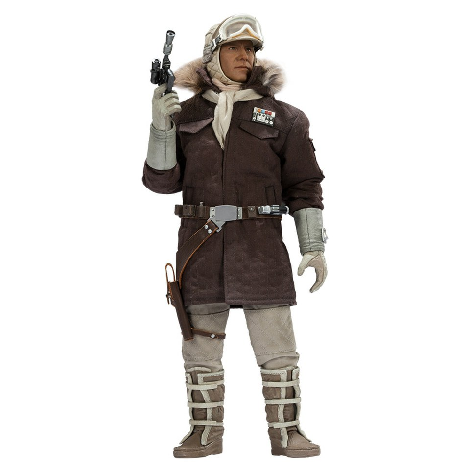 Sideshow collectibles star wars captain han solo hoth 1 6 - Vaisseau star wars han solo ...