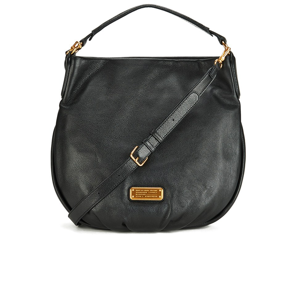Marc by Marc Jacobs Women s New Q Hillier Hobo Bag - Black - Free UK  Delivery over £50 4890d3873c