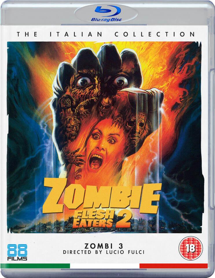 Zombie Flesh Eaters 2 Blu Ray Zavvi