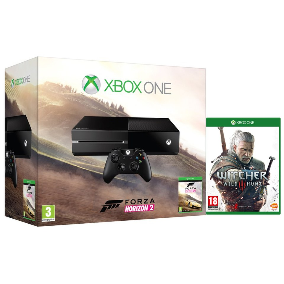 xbox one console includes forza horizon 2 the witcher. Black Bedroom Furniture Sets. Home Design Ideas