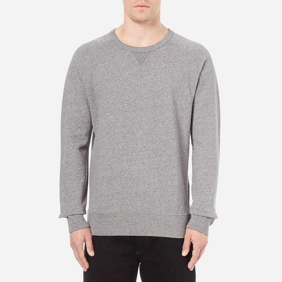 8ed7d5f14 Levi's Men's Original Crew Neck Sweatshirt - Medium Grey Heather