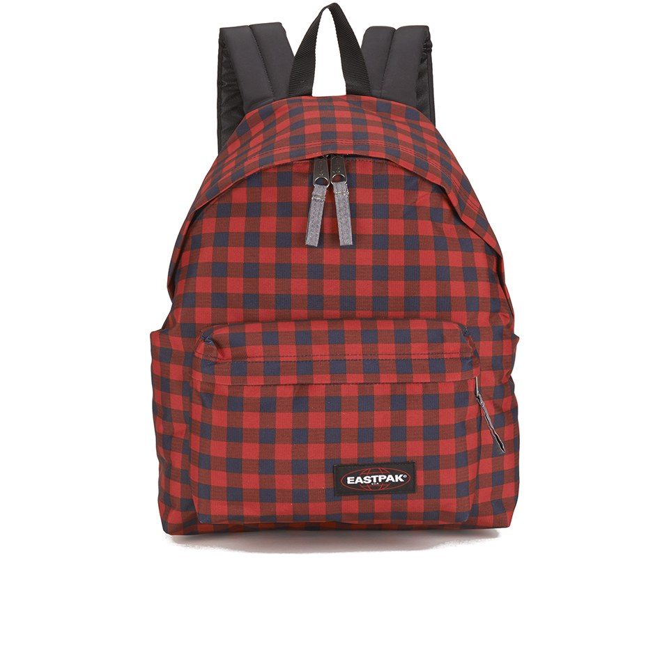 Eastpak padded pak 39 r backpack simply red free uk for Eastpak carreaux