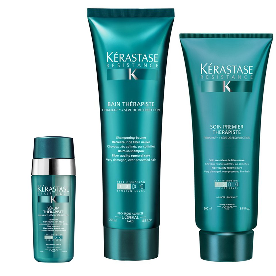 K 233 Rastase Resistance Therapiste Shampoo Conditioner And