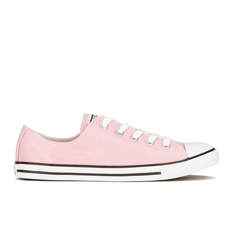 Converse Women's Chuck Taylor All Star Dainty OX Trainers Pink Freeze