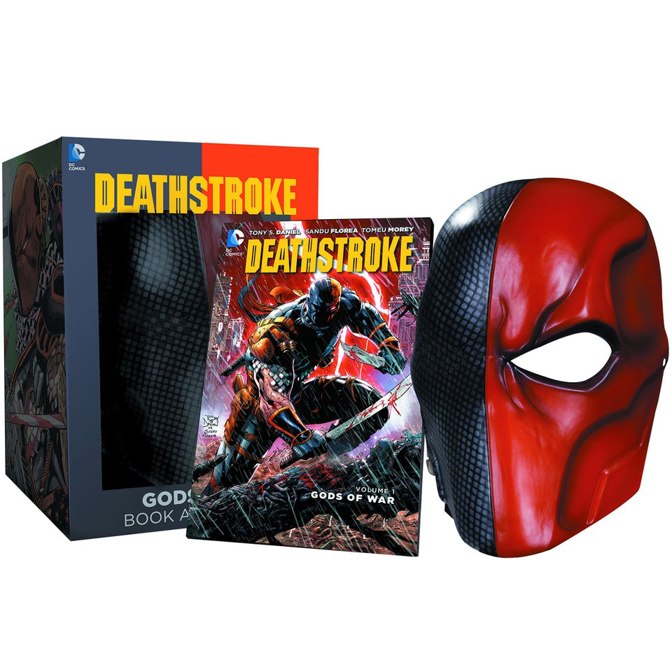 DC Collectibles DC Comics Deathstroke Mask and Book Set ...