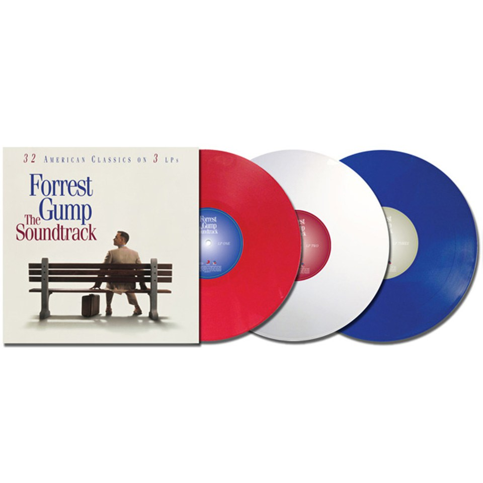 Forrest Gump The Soundtrack 20th Anniversary Ost 3lp
