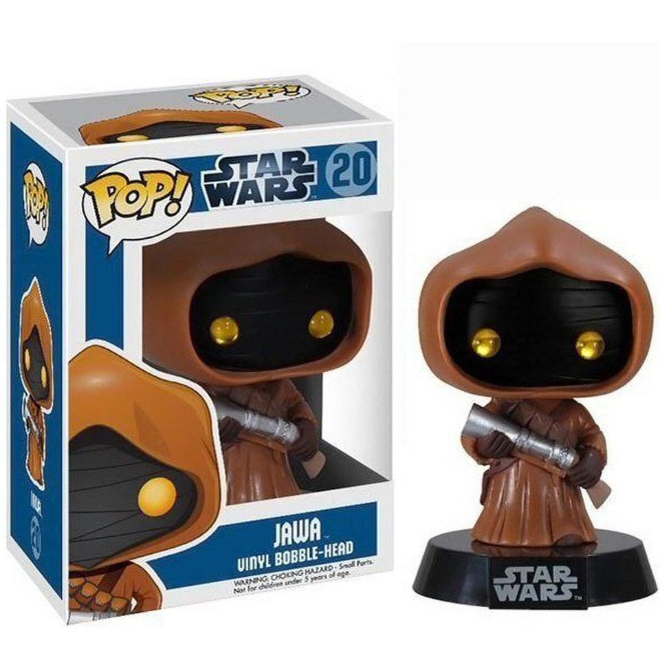 Star Wars Jawa Pop Vinyl Figure Pop In A Box Uk
