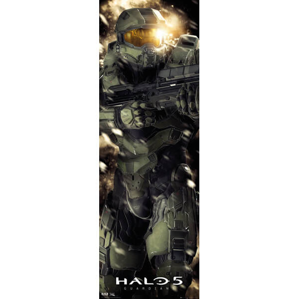 Halo 5 Master Chief - 21 x 59 Inches Door Poster