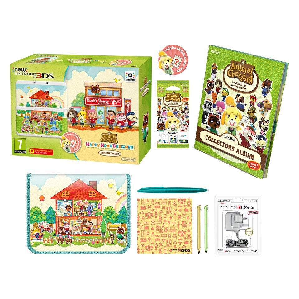 New Nintendo 3ds Animal Crossing Happy Home Designer Pack Nintendo Official Uk Store