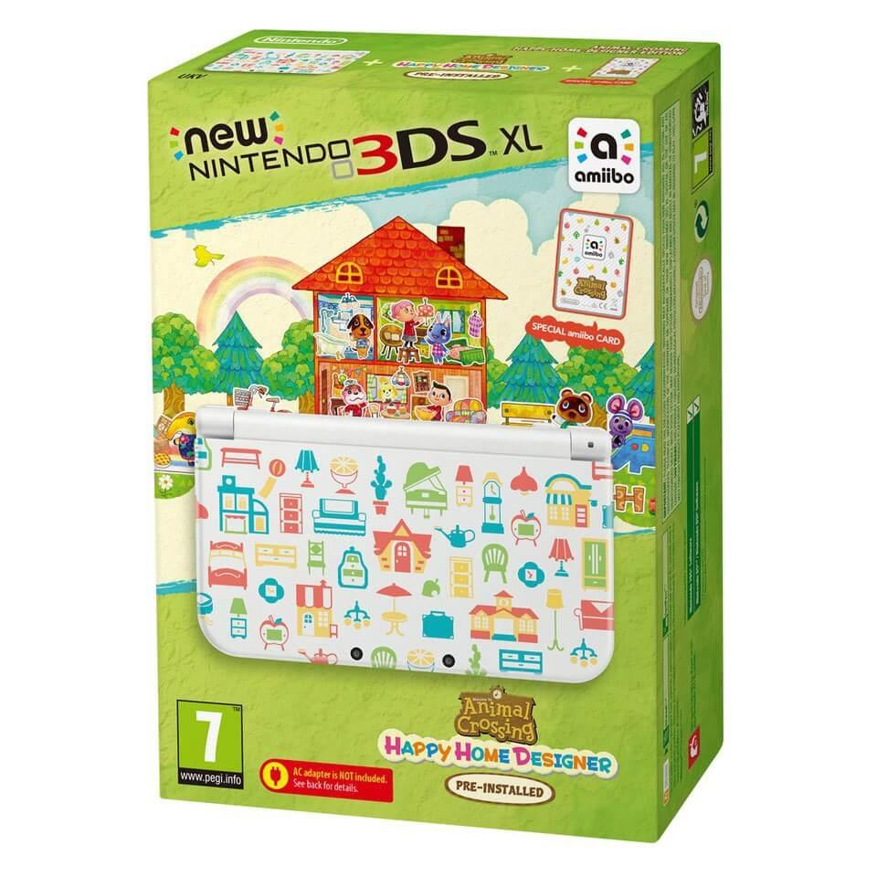 New Nintendo 3ds Xl Animal Crossing Happy Home Designer Edition Nintendo Official Uk Store,Logical Vs Physical Database Design