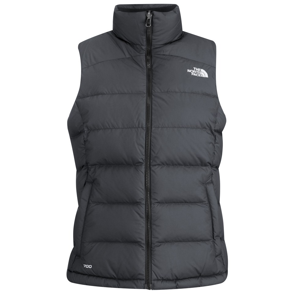 The North Face Women S Nuptse 2 Zipped Gilet Tnf Black