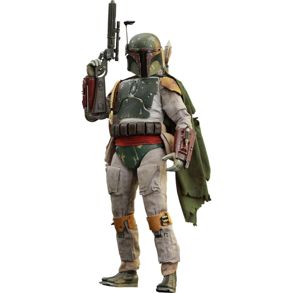 hot toys star wars return of the jedi boba fett 1 6 scale figure merchandise zavvi. Black Bedroom Furniture Sets. Home Design Ideas