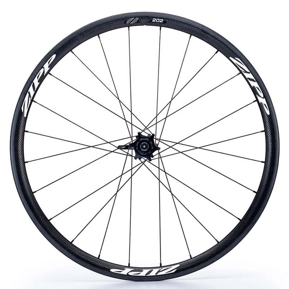 Zipp 202 Tubular Rear Wheel - White Decal | Baghjul