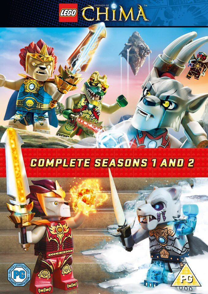 Lego Chima Boxset Dvd Zavvi