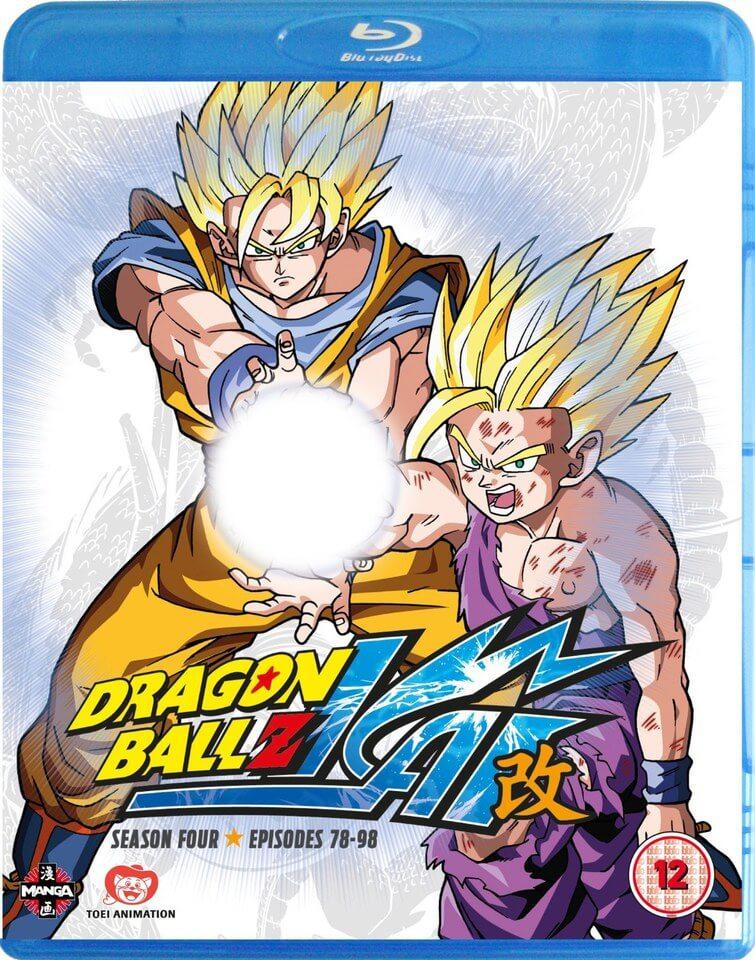 Dragon Ball Z KAI - Season 4 Blu-ray   Zavvi