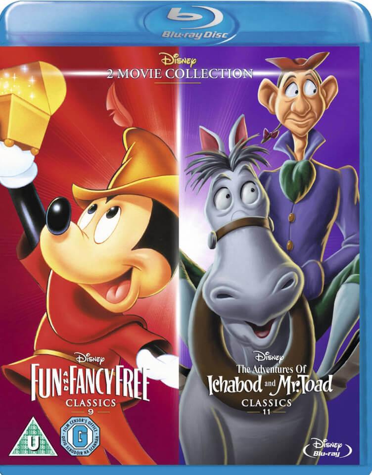 Fun And Fancy Free Ichabod Amp Mr Toad Classics Blu Ray