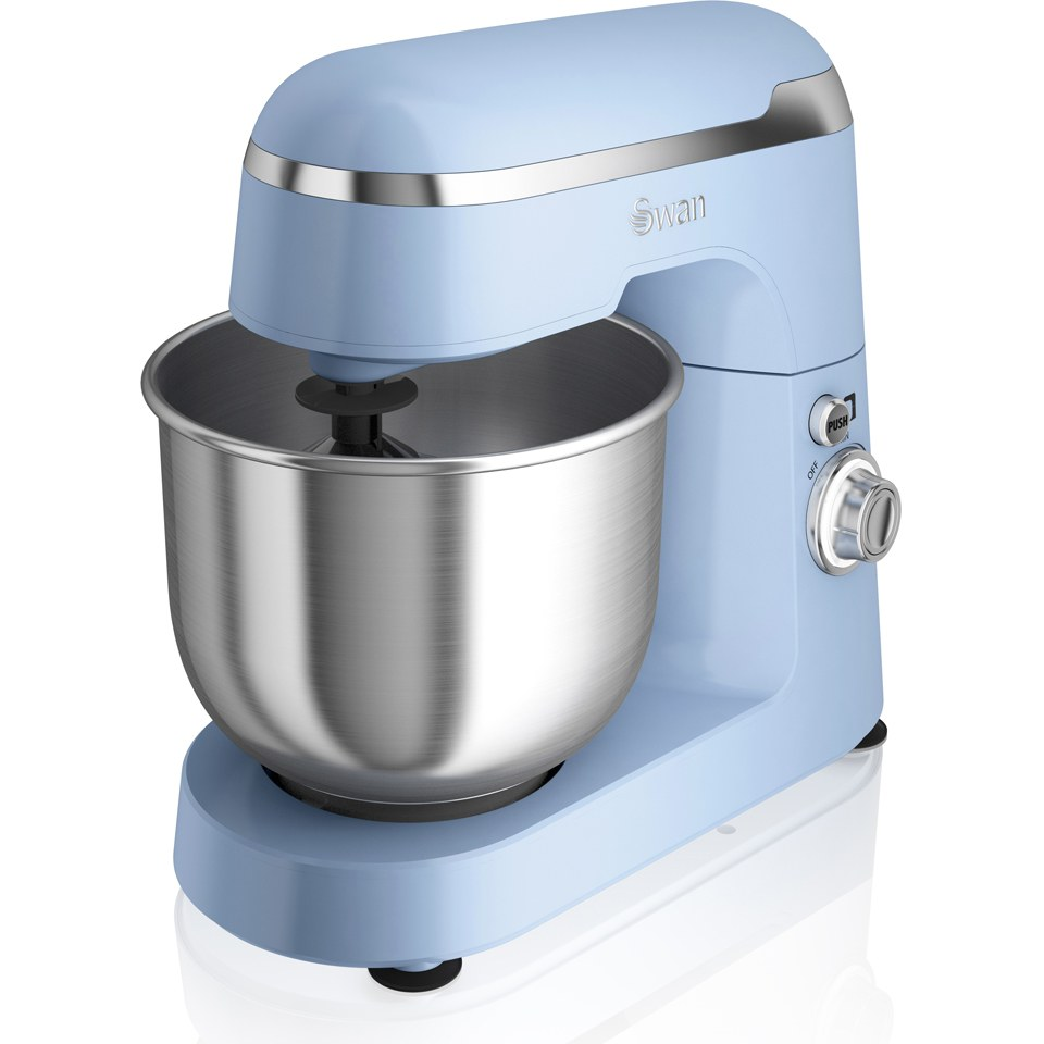 swan sp25010bln retro stand mixer blue homeware