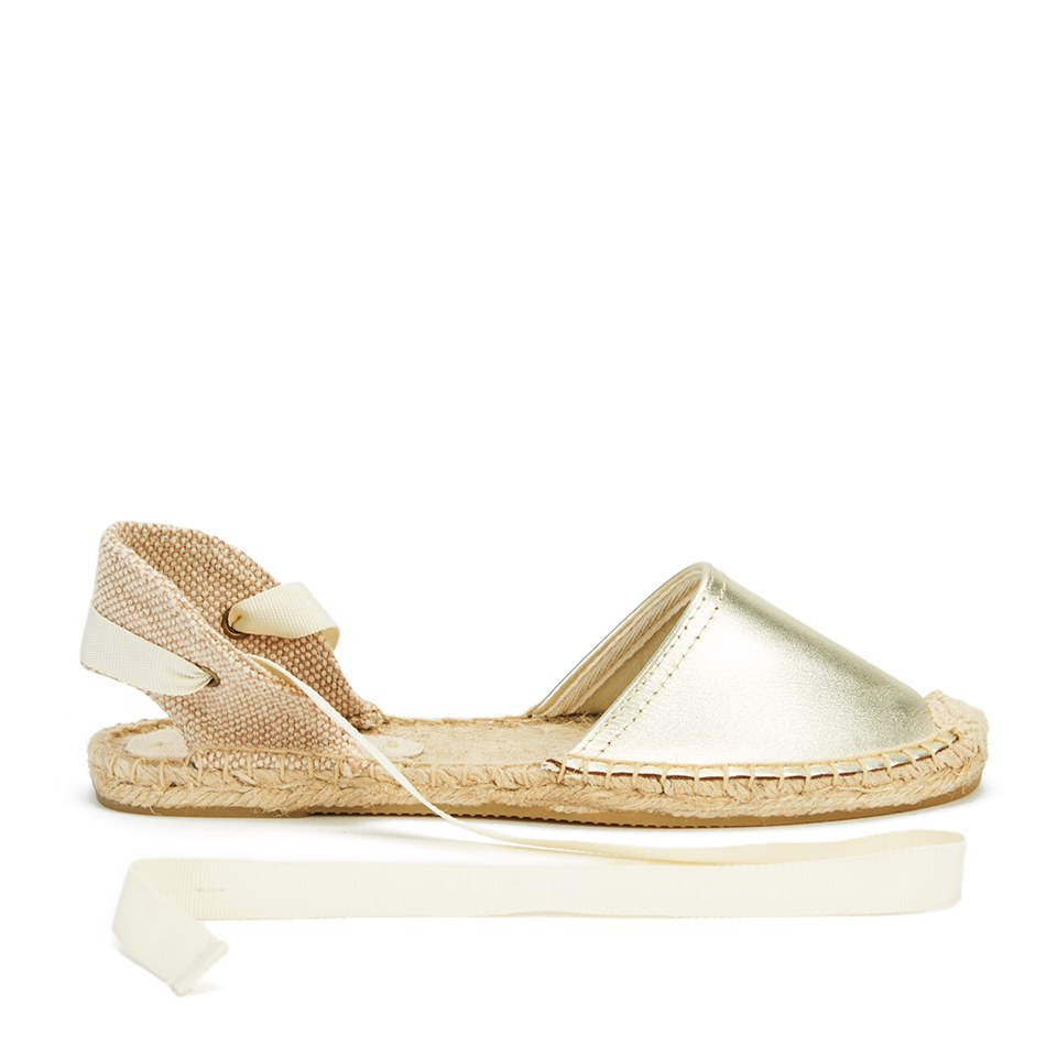 Soludos Women Classic Leather Espadrille Sandals