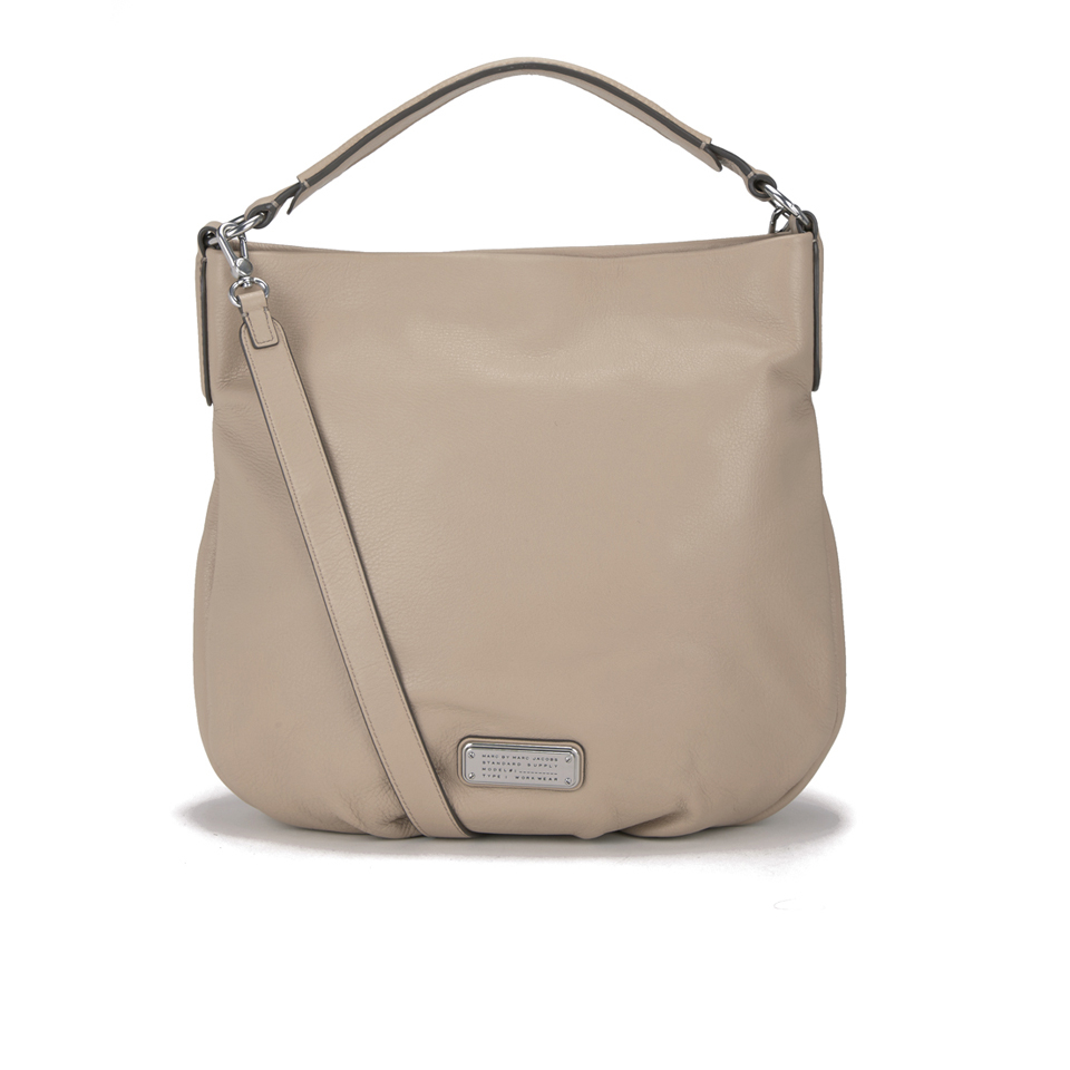 Marc by Marc Jacobs Women s New Q Hillier Hobo Bag - Nude - Free UK  Delivery over £50 21a82f6f65
