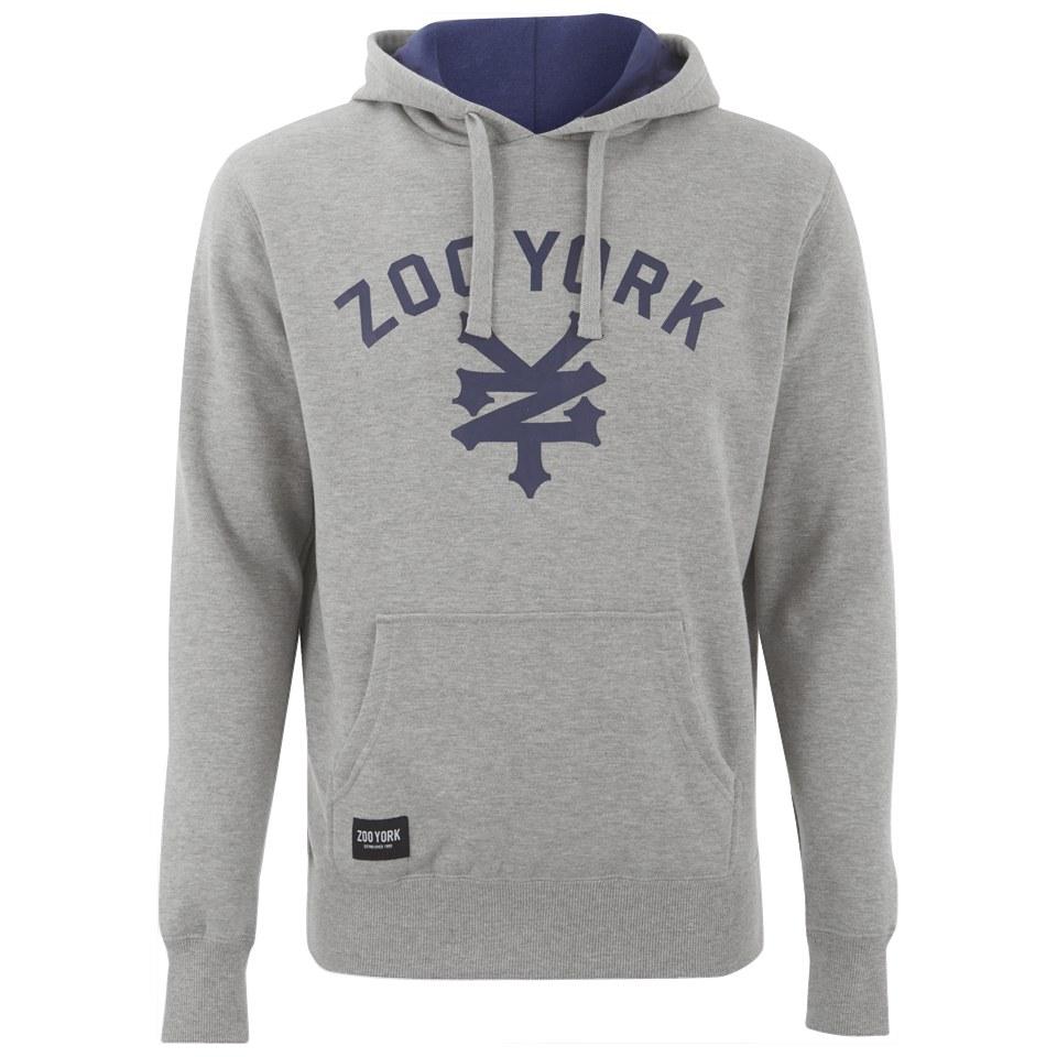Zoo York Men S Daewon Hoody Ath Grey Mens Clothing Zavvi