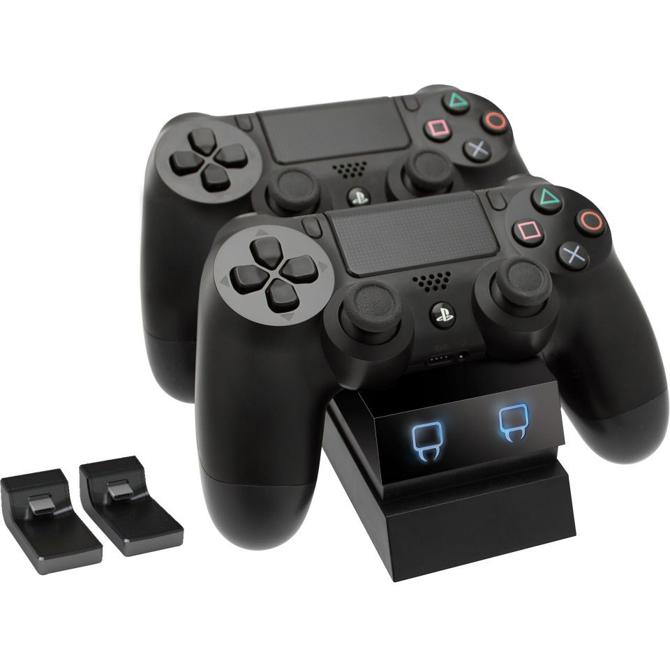 Game Controllers For Ps4 : Ps controller bundle includes twin docking station