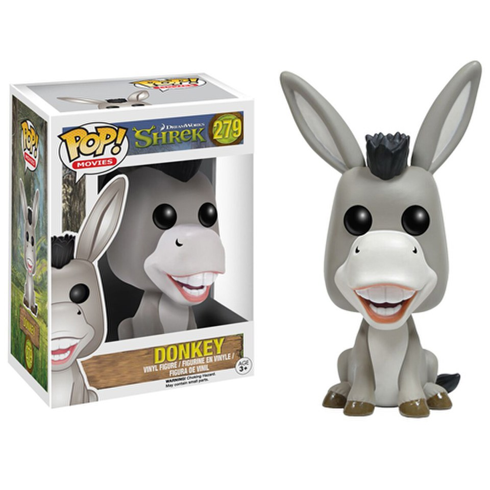 Shrek donkey pop vinyl figure merchandise zavvi - Anne de shrek ...
