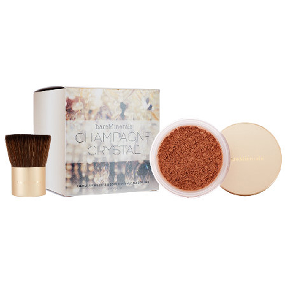Bare Minerals Champagne Crystals Face and Body Set