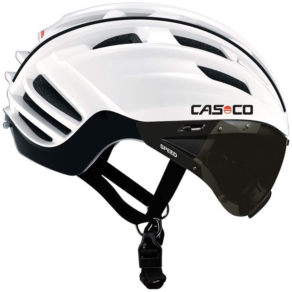 casco speedster aero road helmet smoked visor online. Black Bedroom Furniture Sets. Home Design Ideas
