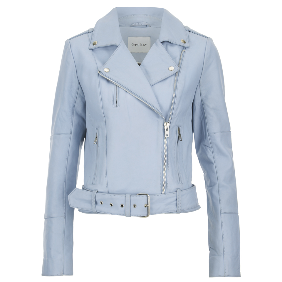 Gestuz Women's Prue Jacket - Baby Blue Womens Clothing | TheHut.com