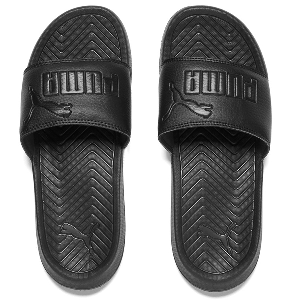Puma Popcat Slide Sandals Black Womens Accessories