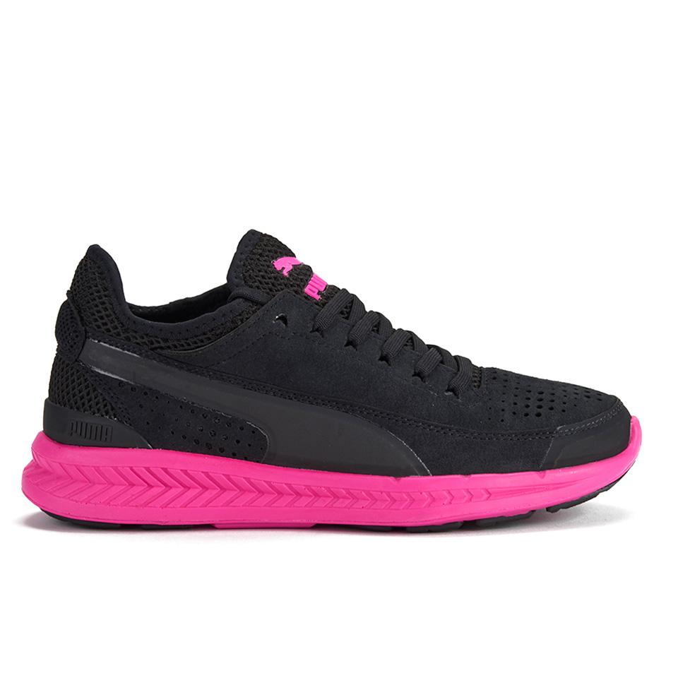 Puma Women S Ignite Sock Low Top Trainers Black Pink
