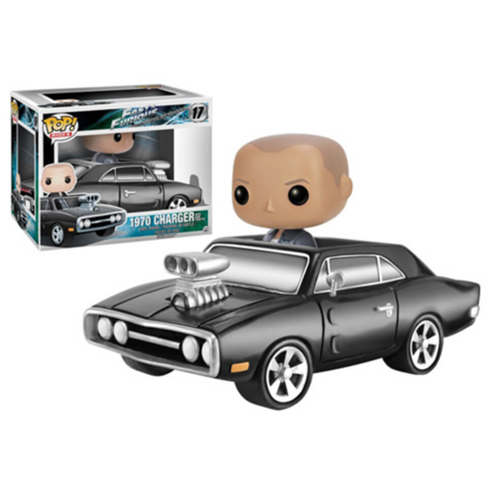 Fast And Furious Dom Toretto With 1970 Dodge Charger Pop