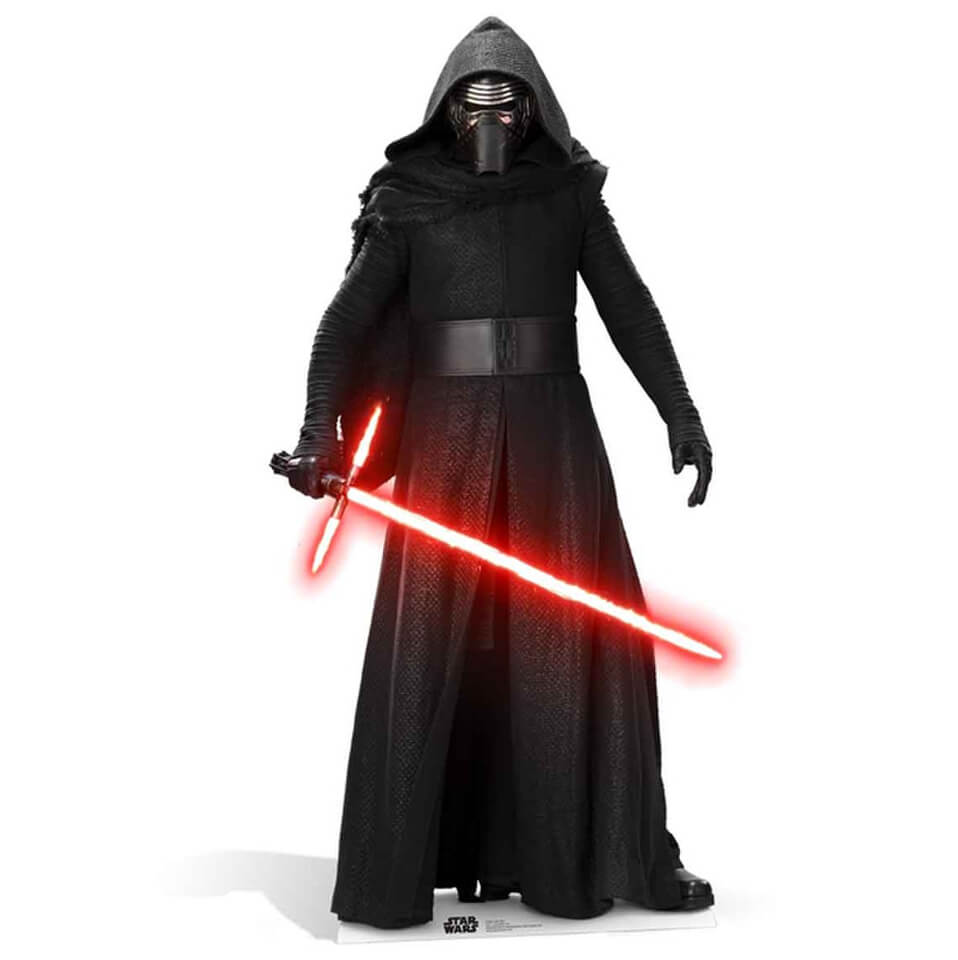 wars the awakens kylo ren size cut out