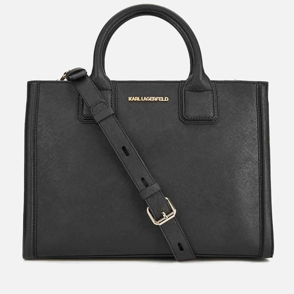017718b61c2b Karl Lagerfeld Women s K Klassik Tote Bag - Black