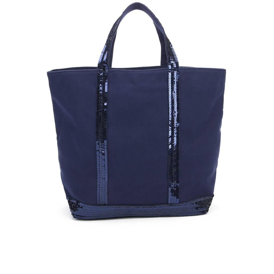 vanessa bruno athe women 39 s cabas small tote bag indigo free uk delivery over 50. Black Bedroom Furniture Sets. Home Design Ideas