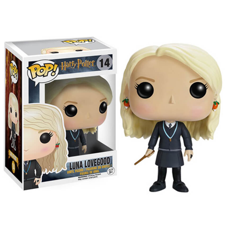 Harry Potter Luna Lovegood Pop Vinyl Figure Merchandise