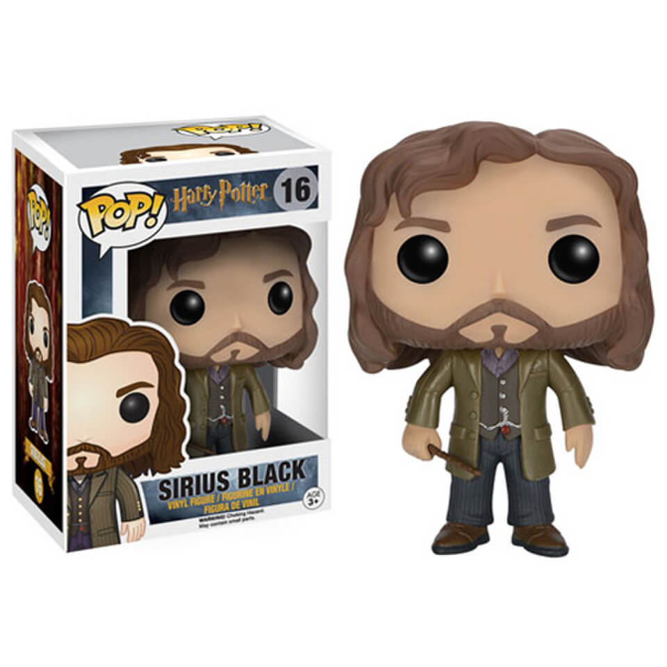 Best Harry Potter Toys And Figures : Harry potter sirius black pop vinyl figure merchandise