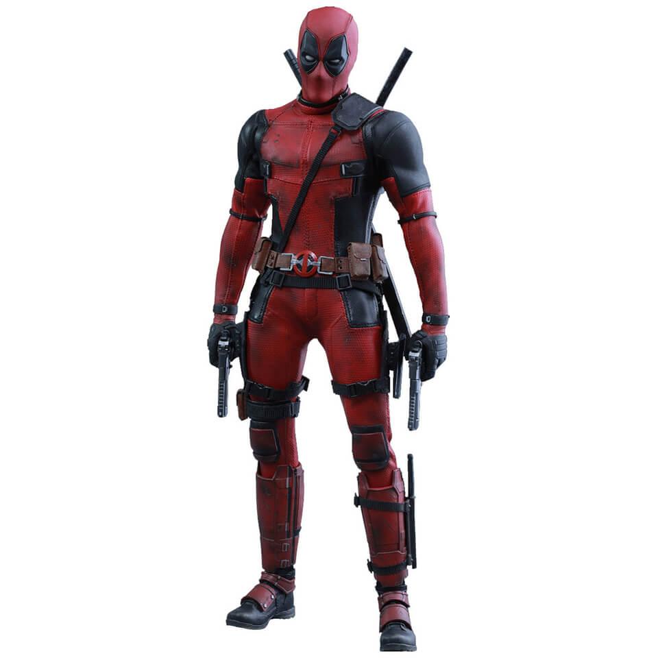 Hot Toys Marvel Iron Deadpool 12 Inch Figure Merchandise