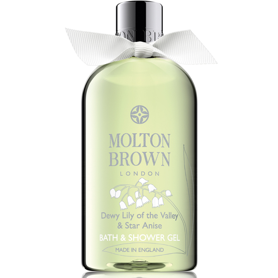 molton brown dewy lily of the valley star anise bath shower molton brown dewy lily of the valley star anise bath shower gel 300ml reviews free shipping lookfantastic