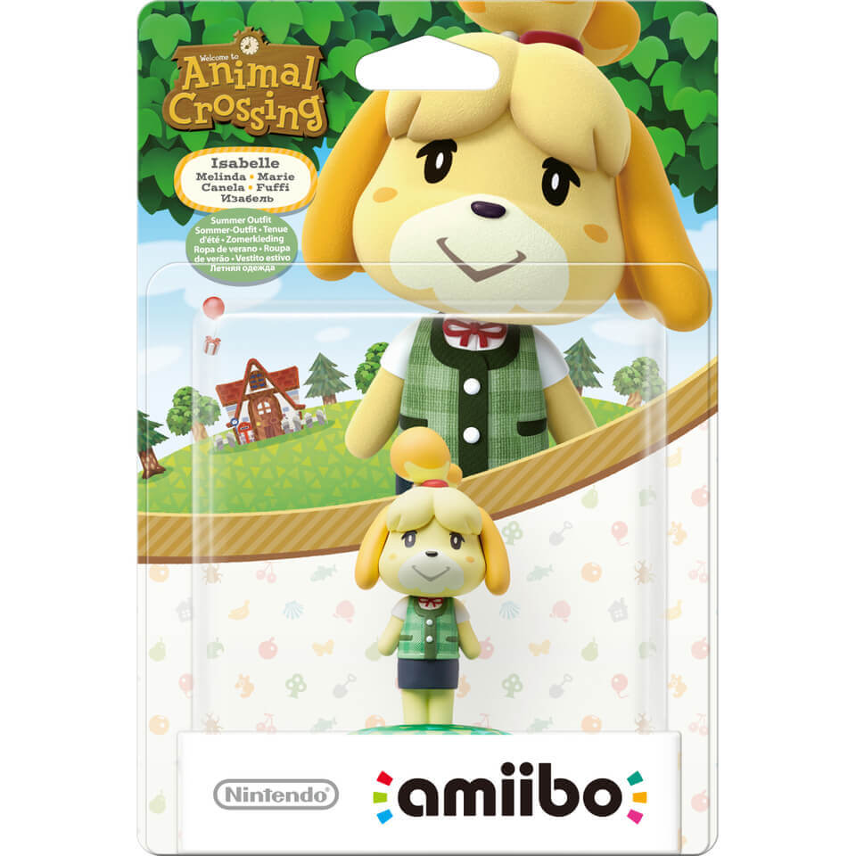 isabelle summer outfit amiibo animal crossing. Black Bedroom Furniture Sets. Home Design Ideas