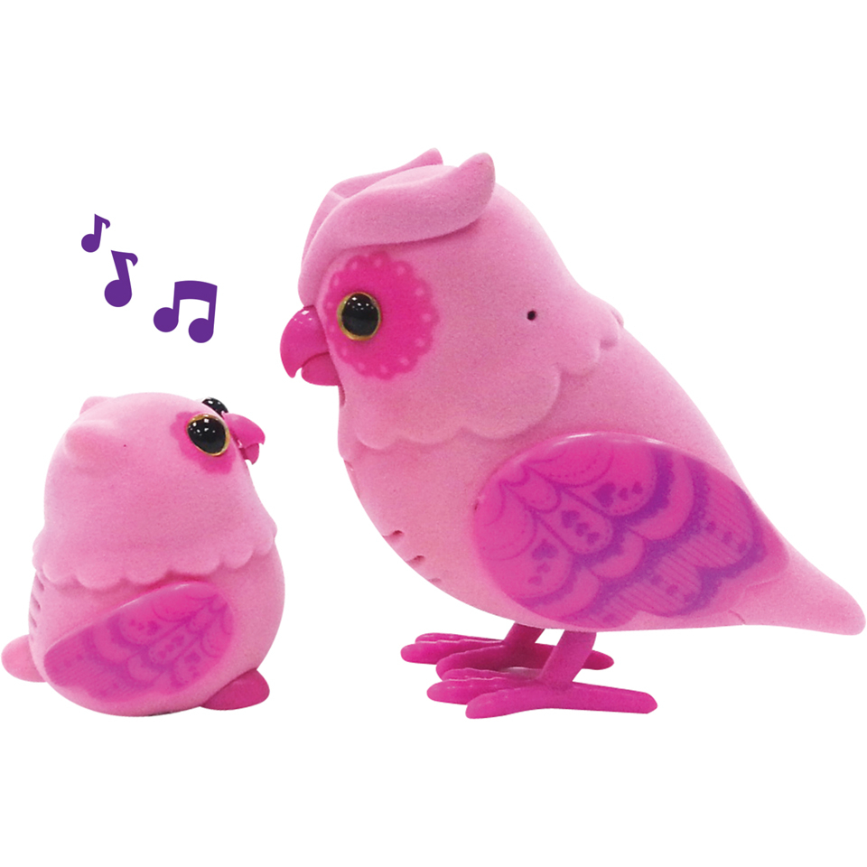 little live pets tweet talking owl and baby iwoot. Black Bedroom Furniture Sets. Home Design Ideas