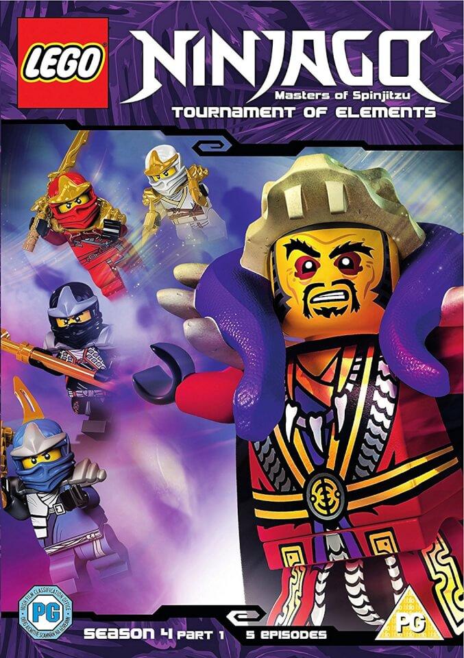 Lego ninjago series 4 volume 1 dvd zavvi - Lego ninjago nouvelle saison ...